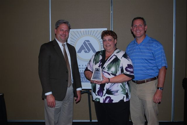 ASA Midwest Council Safety Award Acceptance Photo