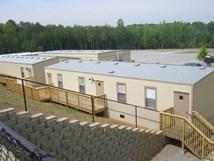 Splex Modular Buildings installed.